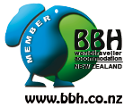 A member of Budget Backpacker Hostels NZ