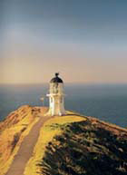 Cape Reinga, the northernmost point of New Zealand